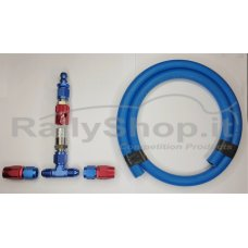COMPLETE FUEL COLLECTION KIT ( fro hose rubber/ste