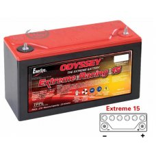 Odyssey Batteries Extreme 15