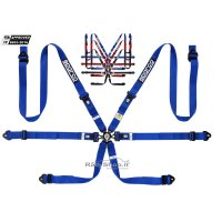 SPARCO HARNESS. 04834HPD - 6 POINT NEW -2021