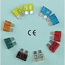 CARD OF 10 ASSORTED PLUG-IN FUSES