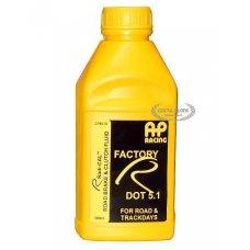 AP RACING FACTORY R DOT 5.1 BRAKE FLUID - 0,5 LT