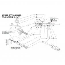 AP RACING repair kit for master cylinders CP7098-C