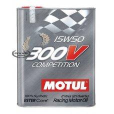 MOTUL 300V COMPETITION 15W50 (BOX 2 LITERS)