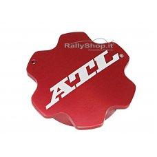 QUARTER TURN RED ANODISED SCREW CAP