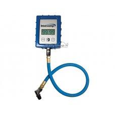 INTERCOMP Digital Air Gauge - 0-7 Bar - 45° Chuck