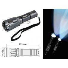 PATROL-LED, ALUMINIUM LED TORCH - COMPACT - 1W