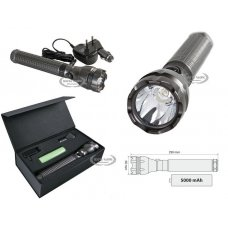 RANGER-LED, RECHARGEABLE LED TORCH - MAXI - 5000 M