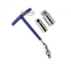 16+21 MM TWIN SOCKET SPARK PLUG T-HANDLE WRENCH