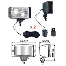 PROX, DRIVING LIGHTS KIT (2 PIECES)