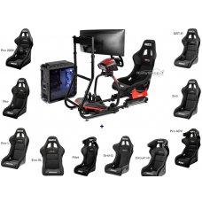 Sparco Sim Rig II Complete Simulator New -2021