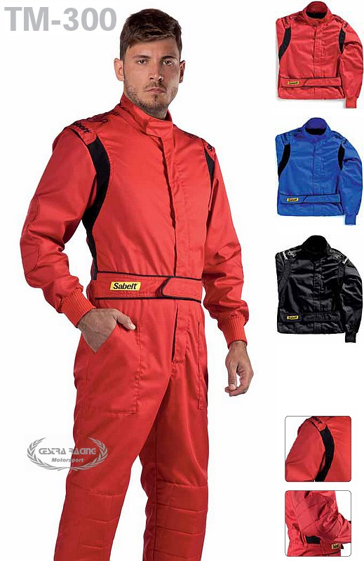 Mechanic Suit TM-300 (size S - M / col. RED)
