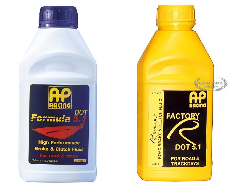 Liquido freni AP RACING Factory R Dot 5.1 - 0,5 lt