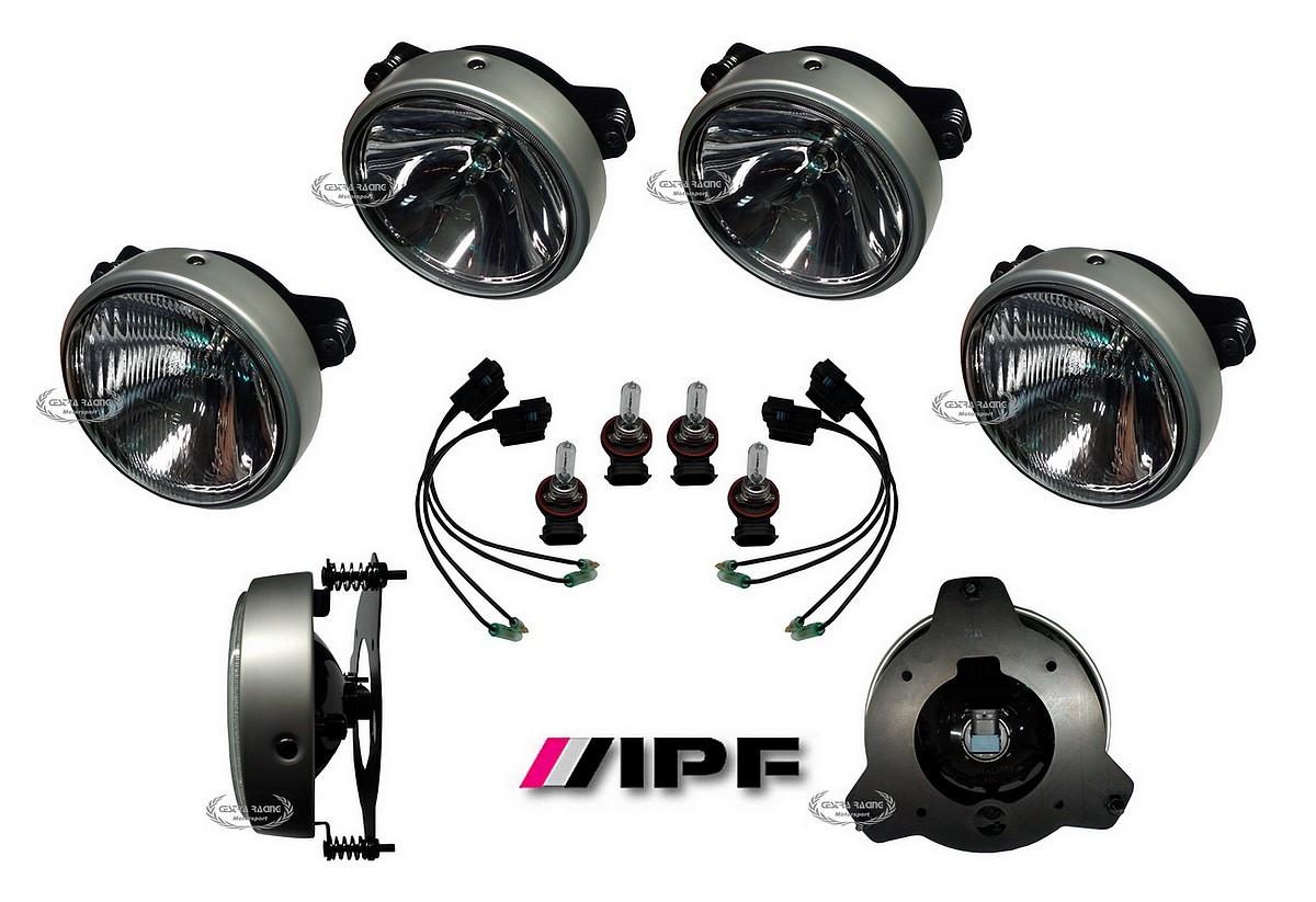KIT completo FARI Ø 200 mm IPF ( fari completi +lampade) [KIT-IPF ...