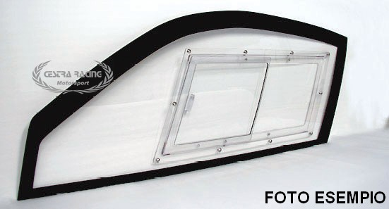 Window kit in polycarbonate AUDI QUATTRO Gr.B