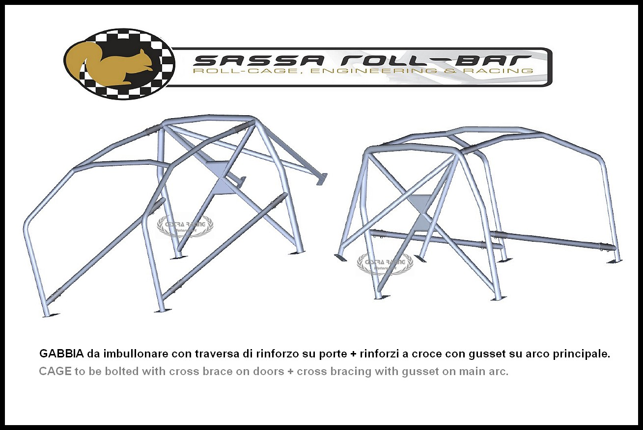 ROLL CAGES certified Mercedes 190