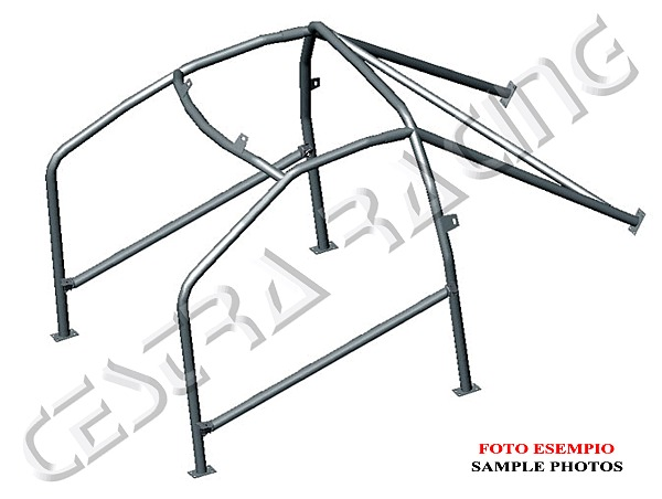 ROLL CAGES certified CITROEN AX 3 doors