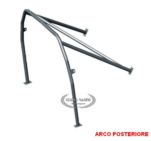 ROLL BAR FIAT 128 BERLINA/SALOON 4P.( posteriore)