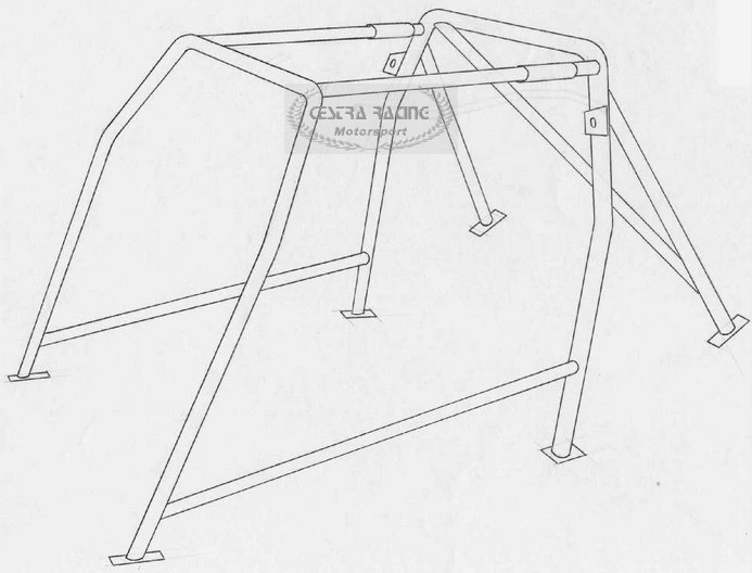 roll bar omologato seat ibiza 6k 00723098 650 00euro rallyshop italia sparco omp. Black Bedroom Furniture Sets. Home Design Ideas