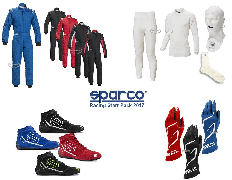 RACING START PACK SPARCO - FIA
