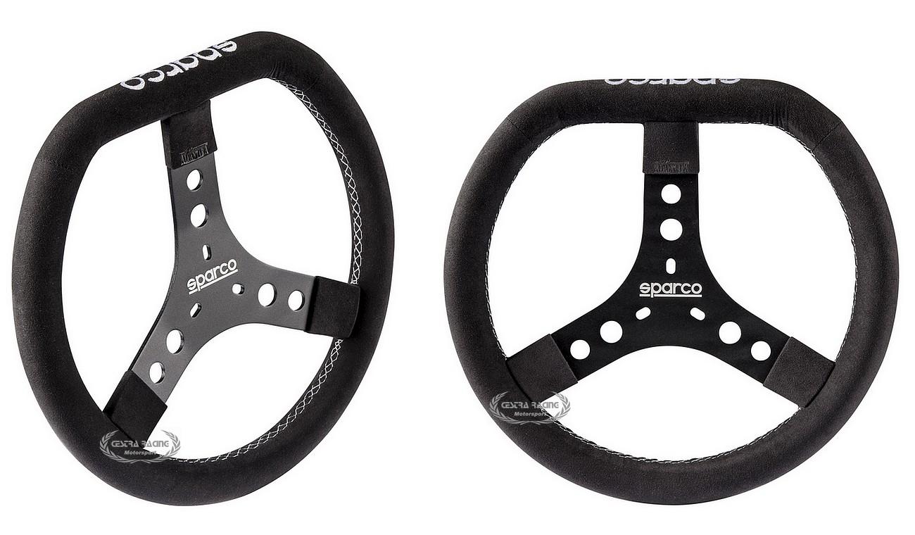 Sparco KG 320 Kart Alcantara Steering Wheel Race Aluminium
