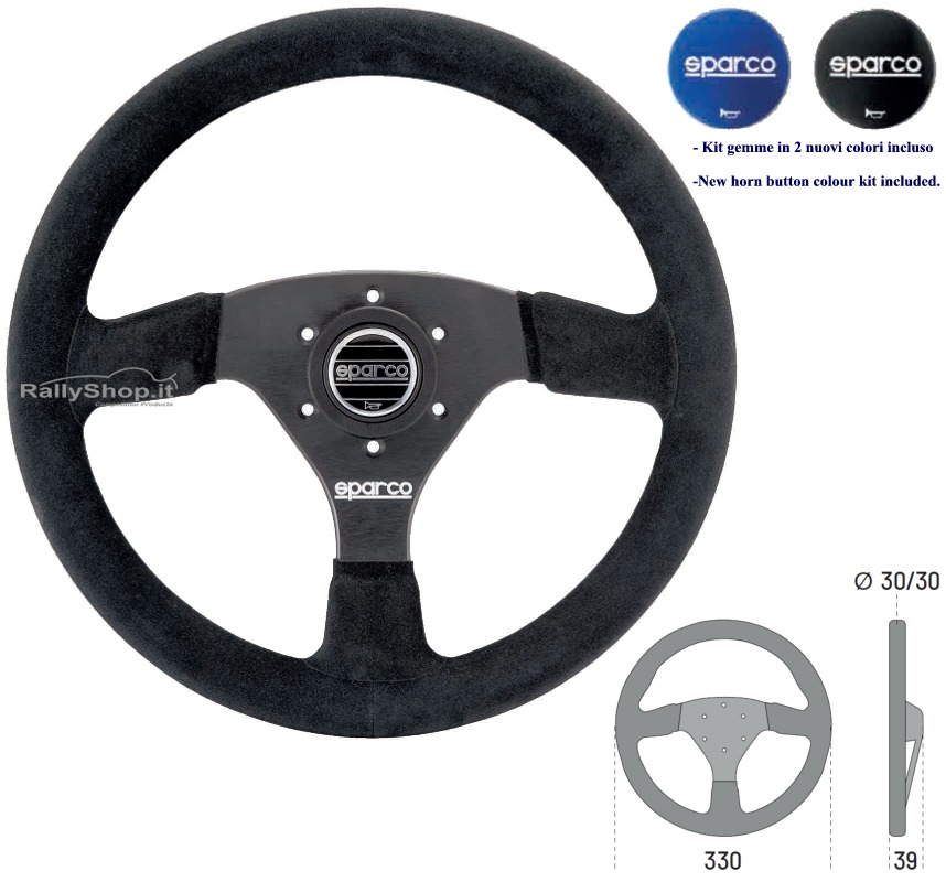 R323 COMPETITION STEERING WHEELS